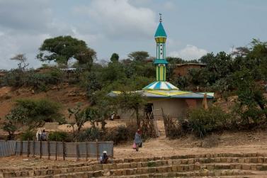 The Sheik Hussein Village Mosque.