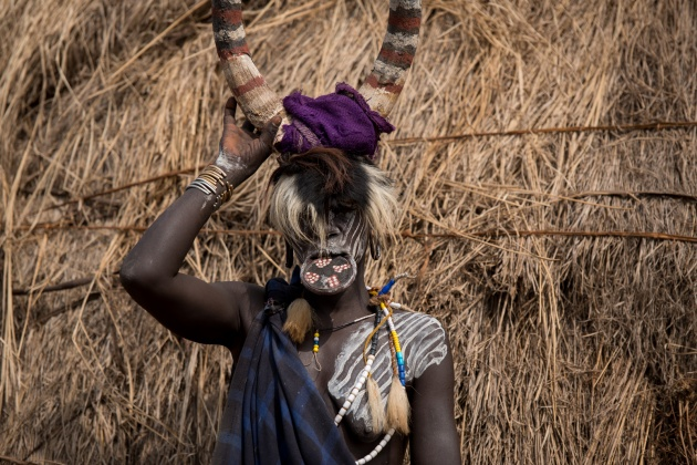 Ethiopia Mursi people